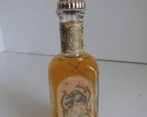 SALE Edwardian Lady Perfume Bottles Vintage Perfume Bottles with Contents Vanity Dresser Decor Avon Keepsake perfume bottle