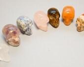 7 Chakra Crystal Skull Set Chakra Healing, Chakra Clearing, Reiki Healing,