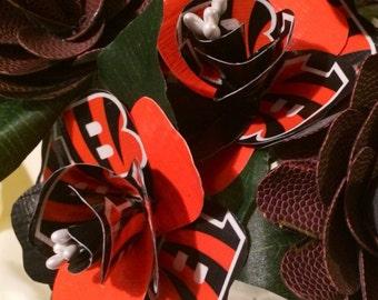 Cincinnati Bengals Duct tape long stem Rose