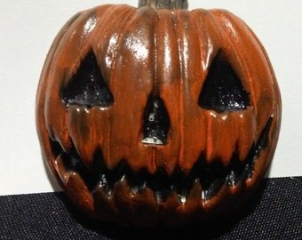 Jack O Lantern Pumpkin Magnet