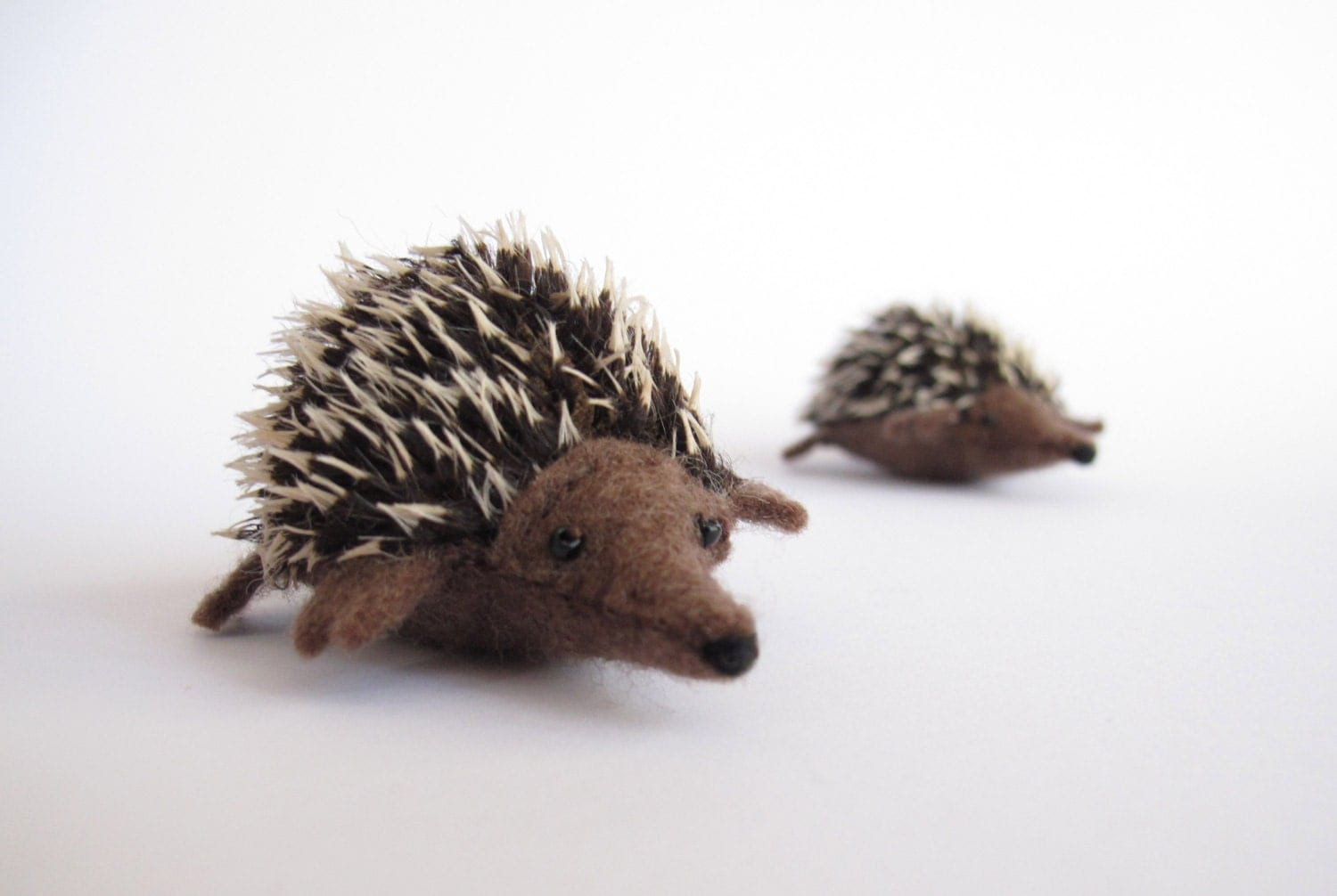 Felt Echidna or Hedgehog Sewing Patter PDF Waldorf style