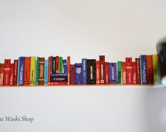 Book Washi Tape(20mm x 5m)