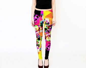 Bright yoga pants – Etsy