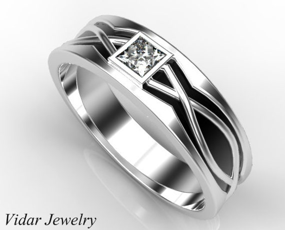 like this item - Princess Cut Diamond Wedding Ring