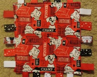 101 Dalmatians Baby Ribbon Blanket