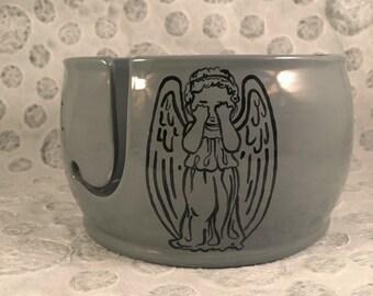 Weeping Angel Yarn Bowl
