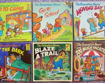 Berenstain Bears Childrens Picture Books - Lot of 12 Paperback Kids Books -  Storytime Book Lot