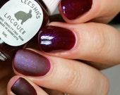 Purple Jelly Nail Polish, Purple Flakie Nail Polish - Grape Scott! - 3 Year Anniversary Collection