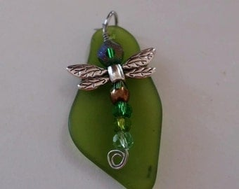 Dragon fly pendent