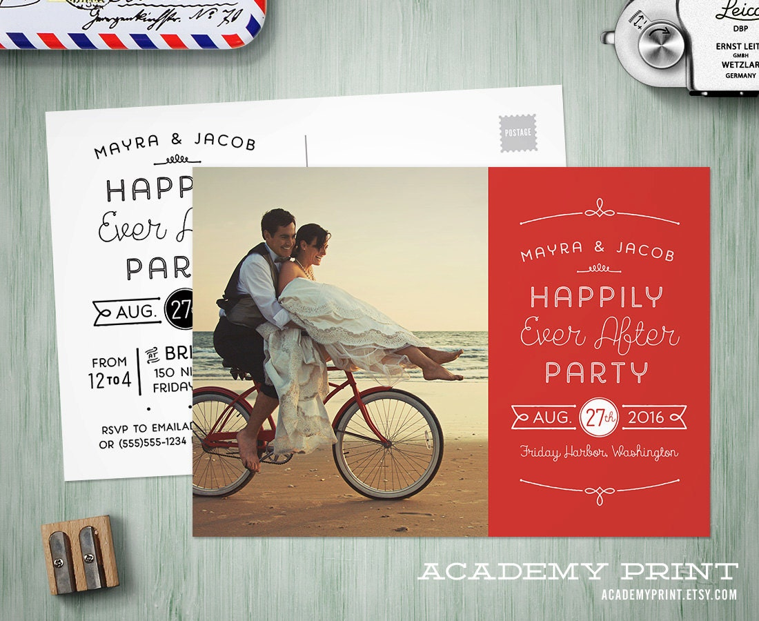 Cool wedding invitations for the ceremony: Personalized wedding ...