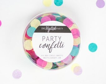 Party Confetti - Pineapple Punch