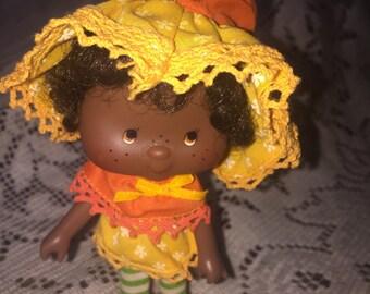 Vintage 1980 Orange Blossom doll Strawberry Shortcake