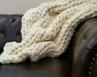 8 lbs Pounds White Wool Top DIY Roving Fiber Spinning, Make Your Own- Felting Crafts Large Chunky (Arm or PVC) Knit Throw Blanket USA -Sale!