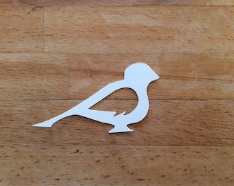 Bird Papercut Template SVG Cutting File