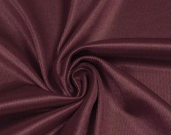 Burgundy Pale Polyester Dazzle Fabric Sports Mesh Fabric , Football Fabric, Soccer Fabric, Basketball Jersey Fabric - 1 Yard Style 20010