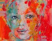 Ellsa -  Giclée art print on Canvas