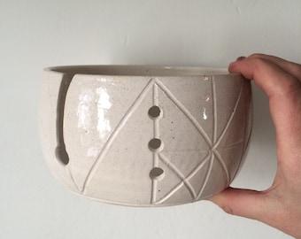 yarn bowl - knitting bowl - knitters gift