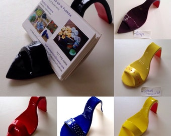 Shoe Business Card Holders