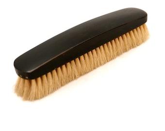 Edwardian Ebony Clothing Brush, Ebony Brush, Natural Bristle Brush, Ebony Clothes Brush, Wooden Clothes Brush, Edwardian Jacket Brush