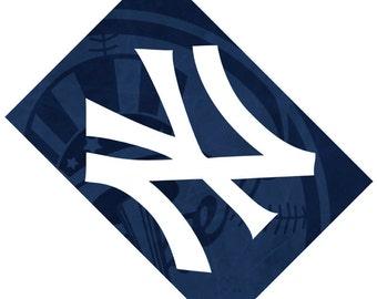 Passport Cover Case Holder -- New York Yankees