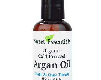 Organic 100% Pure Moroccan Argan Oil - 2oz -  Imported from Morocco