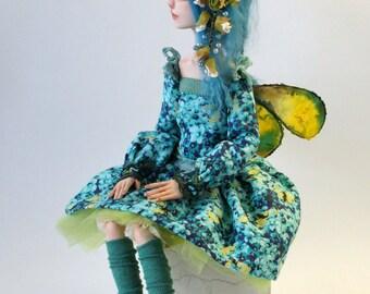 "Art doll OOAK "" The Meadows Elf """