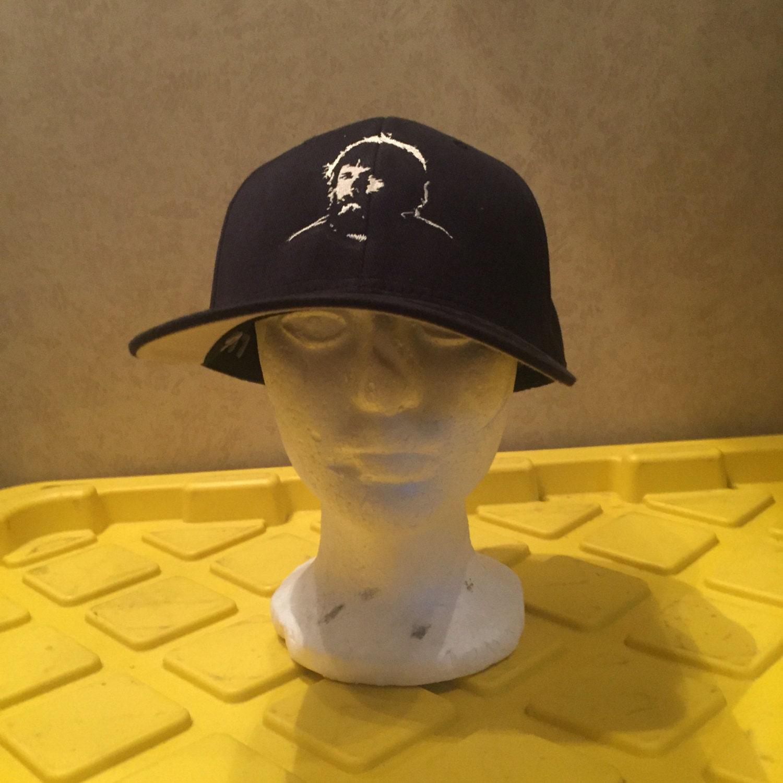 Grateful Dead Trucker Hat: Gatelful Dead Brent Mydland Embroidered Flexfit Hat