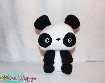 WakuWaku Panda 17cm Fleece Plush