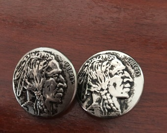 Indian Head Buttons