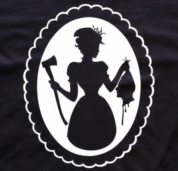 Widow Victorian t-shirt horror blood