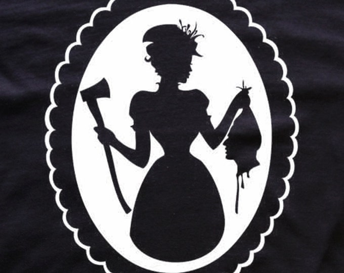 Widow Victorian t-shirt horror blood