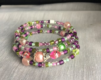 Spring Fling Wrap Bracelet