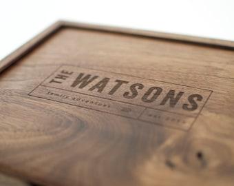 Keepsake Box, Baby Keepsake Box, Wooden Box, Wedding Card Box, Gift for Men, Anniversary Gift, Engraved Quote Box, Custom Quote Wooden Box
