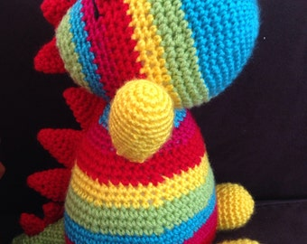 Puppy, dragon or dinosaur made to order for your little one. Any colour or combination.