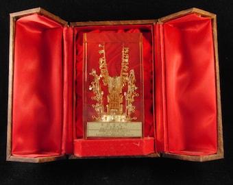 Vintage Replica of the Korean Crown National Treasure #87