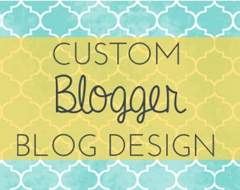 The Whole Package - custom BLOGGER template
