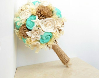 Beach Wedding Bouquet, Starfish Bouquet, Beach Wedding