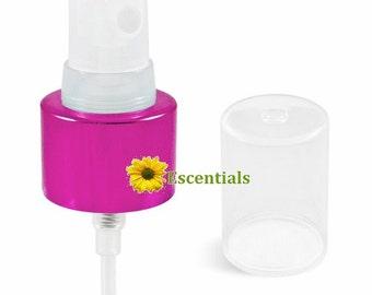 Magenta Pink Metal Collar Mist Sprayer 24/410 - 2 Pack
