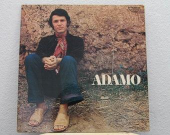"Adamo - ""Adamo"" vinyl record, France Import"