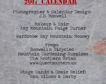 2017 Top Secret Classic Pinup Calendar