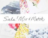 Mix & Match Box Set- A2 Greeting Cards