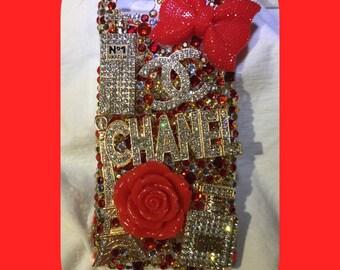 Custom Bling Rhinestone Sparkle Bling phone Case