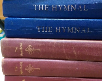 Upcycled Hymnal Journal