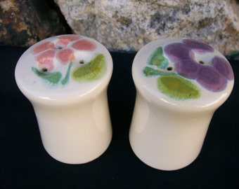 Franciscan Floral USA Salt and Pepper Shaker Set