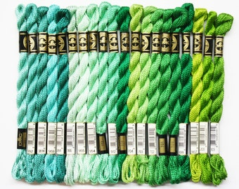 DMC Perle Cotton 1.40 Each, Perle Cotton #3, Perle Cotton #5, DMC Threads, Needlework Threads, Cotton Yarns, Needlework Yarns, DMC Yarns