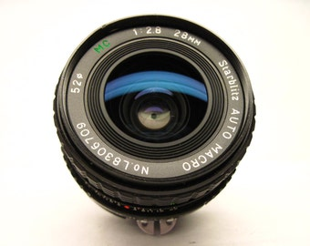 Starblitz L8306709, 28mm f/2.8 lens for Nikon