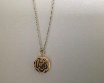Brass Wine Cork Necklace with Creative Design