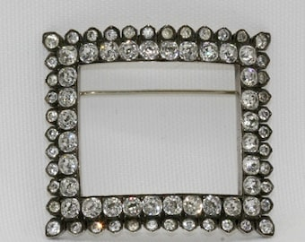 Vintage Diamante Brooch
