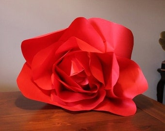 Giant Paper Rose - Free Shipping in US