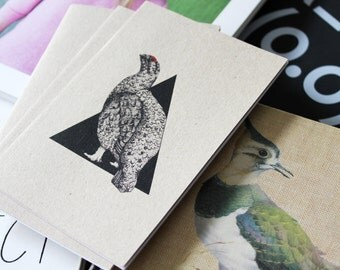 A6 Red Grouse Notepad